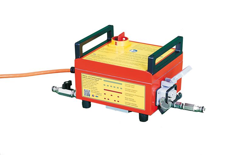 Frequenzumformer FU6 U -  zur  Steuerung und Antrieb der ANNA Geräteserie von WEKA