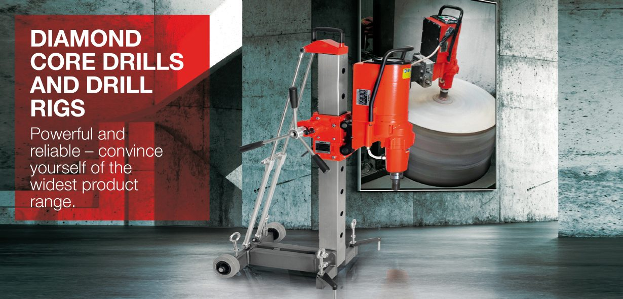 Picture WEKA Core Drills and Drill Rigs